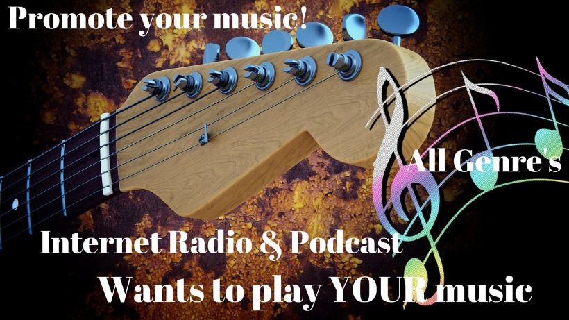 New Internet Radio & Podcast Seeking Song Submissions - All